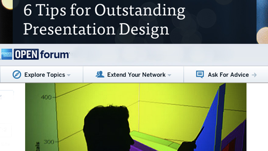 6 Tips for Outstanding Presentation Design_OPEN Forum_880x496